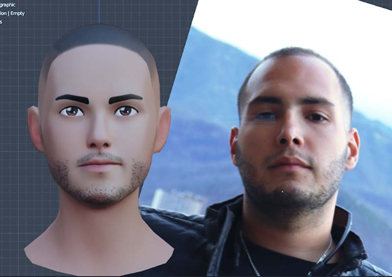 virtual embodiment 3D avatar